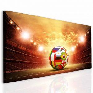 Dětský obraz fotbalový míč