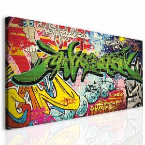 Dětský obraz graffiti