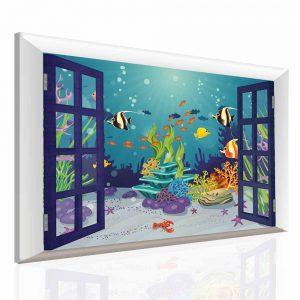 Dětský obraz podmořský svět