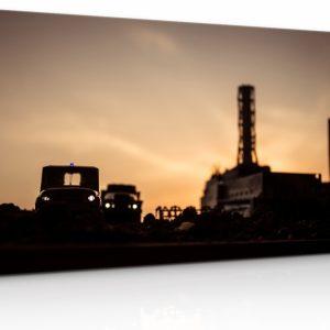 Obraz Černobylská elektrárna