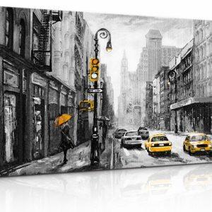 Obraz malebné ulice New Yorku