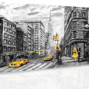 Obraz - Malovaný New York
