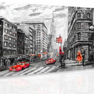 Obraz - Malovaný New York II.