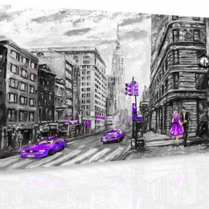 Obraz - Malovaný New York III.