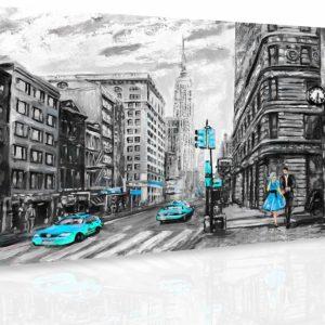 Obraz - Malovaný New York IV.