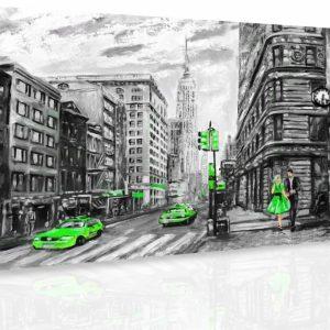 Obraz - Malovaný New York V.