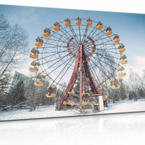 Obraz Mrazivé Černobylské kolo
