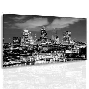 Obraz noční Londýn