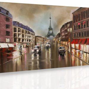 Obraz - Paříž za deště