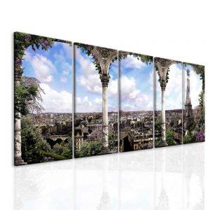 Obraz romantická Paříž