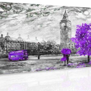 Obraz - Romantický Londýn II.