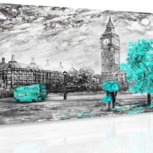 Obraz - Romantický Londýn III.