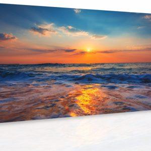 Obraz - Západ slunce nad mořem