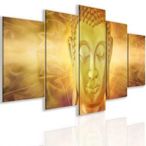 Obraz zlatý Buddha