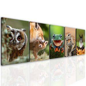 Obraz zvířata 200x60 cm