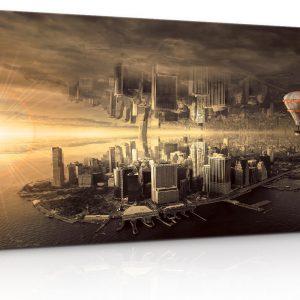 Fantasy New York 150x85 cm