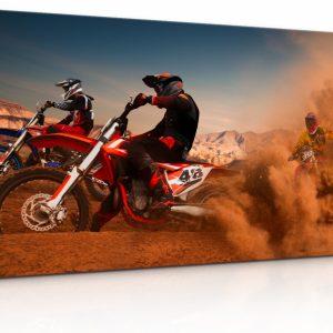 Obraz Zběsilé motorky