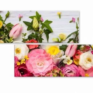 Atypický obraz něžné květiny