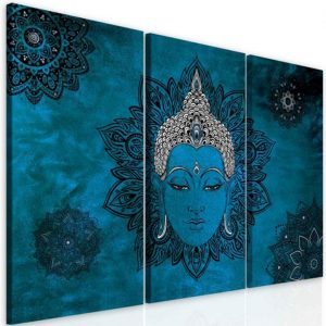 Obraz mandala modrý Buddha