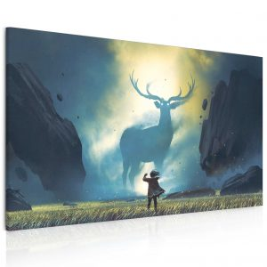 Obraz - majestátní jelen