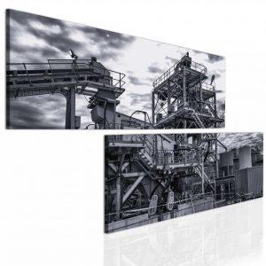 Atypický obraz - industriální motiv