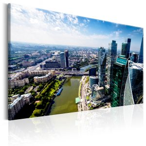 Obraz - Aerial view of Moscow