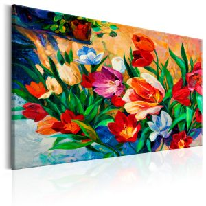 Obraz - Art of Colours: Tulips