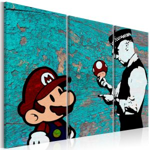 Obraz - Banksy: Cracked Paint