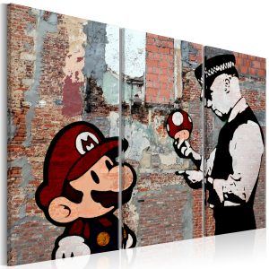 Obraz - Banksy: Warning
