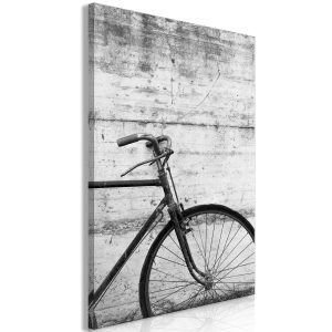 Obraz - Bicycle And Concrete (1 Part) Vertical