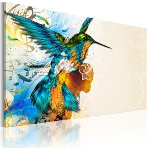 Obraz - Bird's music