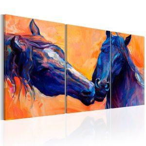 Obraz - Blue Horses
