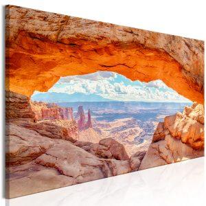 Obraz - Canyon in Utah (1 Part) Narrow