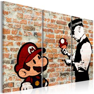Obraz - Caught Mario