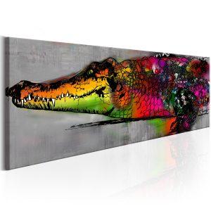 Obraz - Colourful Alligator