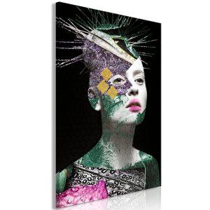 Obraz - Colourful Portrait (1 Part) Vertical