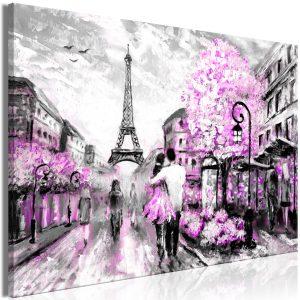 Obraz - Colourful Rendez-Vous (1 Part) Wide Pink