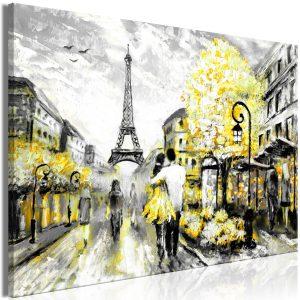 Obraz - Colourful Rendez-Vous (1 Part) Wide Yellow