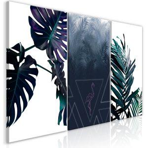Obraz - Cool Leaves (3 Parts)