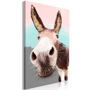 Obraz - Curious Donkey (1 Part) Vertical
