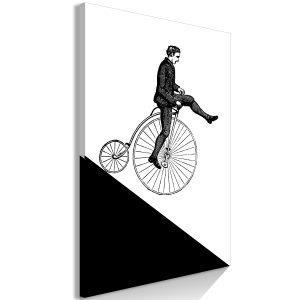 Obraz - Cyclist (1 Part) Vertical