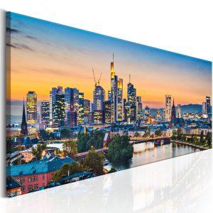 Obraz - Evening in Frankfurt