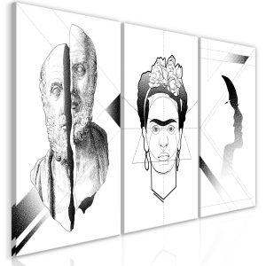 Obraz - Facial Composition (3 Parts)