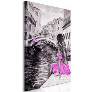 Obraz - Far Dreams (1 Part) Vertical Pink