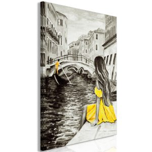 Obraz - Far Dreams (1 Part) Vertical Yellow