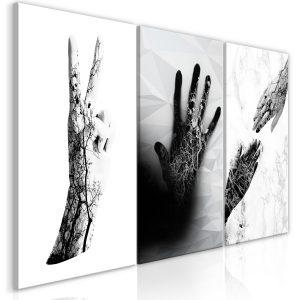 Obraz - Female Hands (3 Parts)