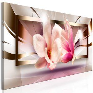 Obraz - Flowers outside the Frame (1 Part) Narrow