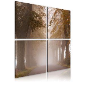 Obraz - Foggy alley