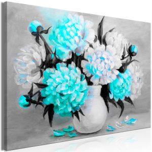 Obraz - Fragrant Colours (1 Part) Wide Blue