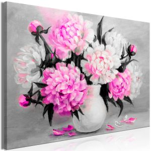 Obraz - Fragrant Colours (1 Part) Wide Pink